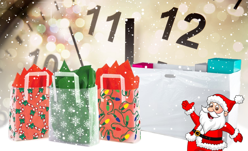 Christmas packaging countdown