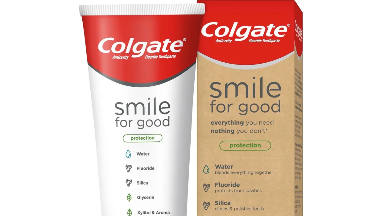 Colgate's new 'Smile for Good' toothpaste